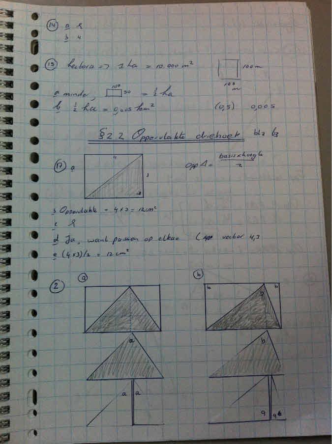 wiskunde mavo 2